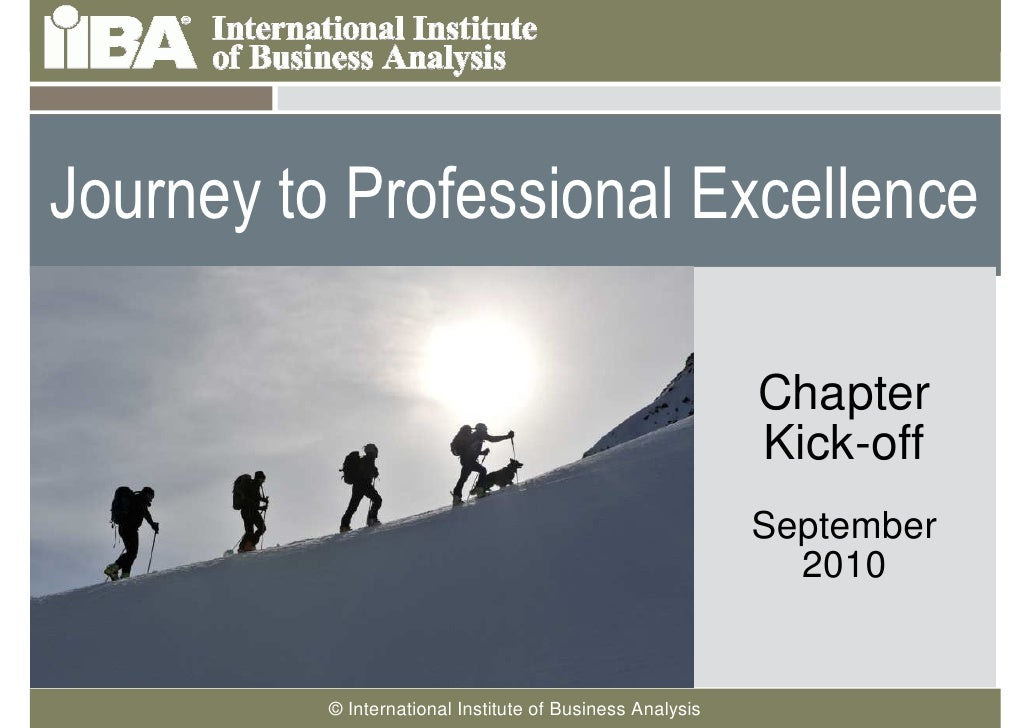 Journey to Professional Excellence     Cover this area with a    picture related to your                                  ...