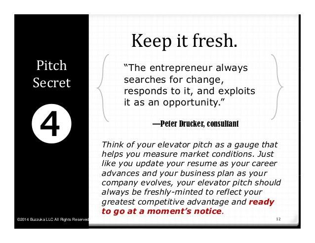 Kickstart: Seven Secrets to a Powerful 30-Second Elevator Pitch by Bu…
