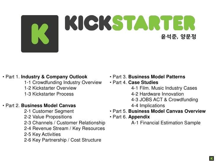 윤석준, 양문정• Part 1. Industry & Company Outlook            • Part 3. Business Model Patterns            1-1 Crowdfunding Indu...