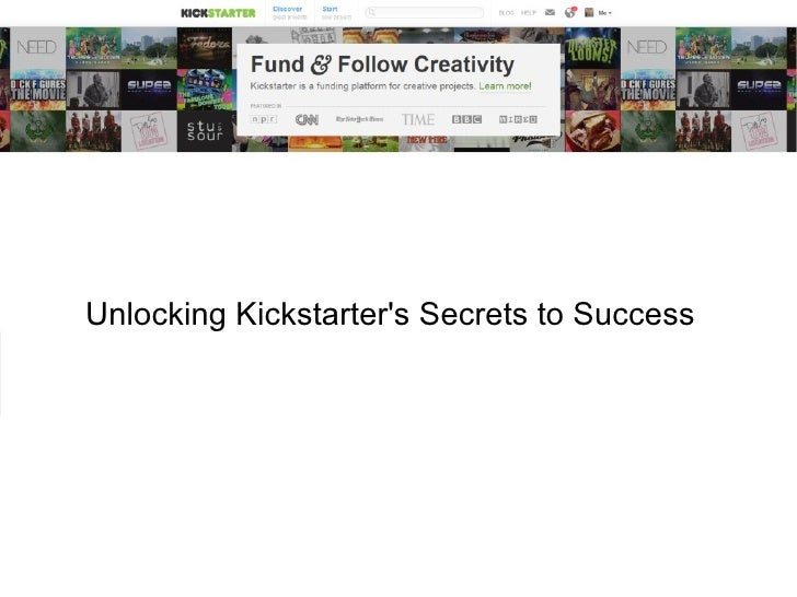 Unlocking Kickstarters Secrets to Success