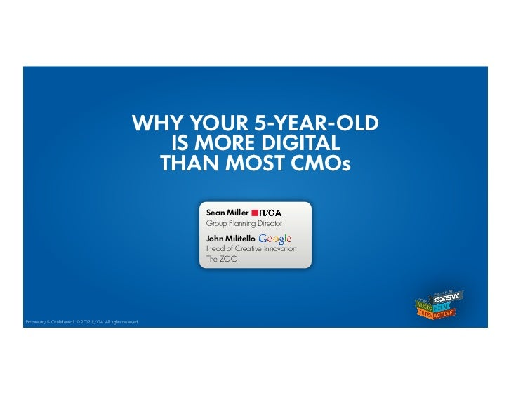 WHY YOUR 5-YEAR-OLD                                                         IS MORE DIGITAL                               ...