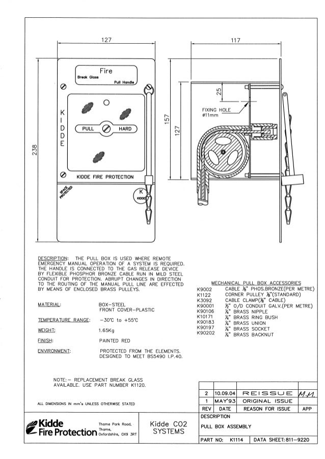 Kidde Co2 Product Manual 050128
