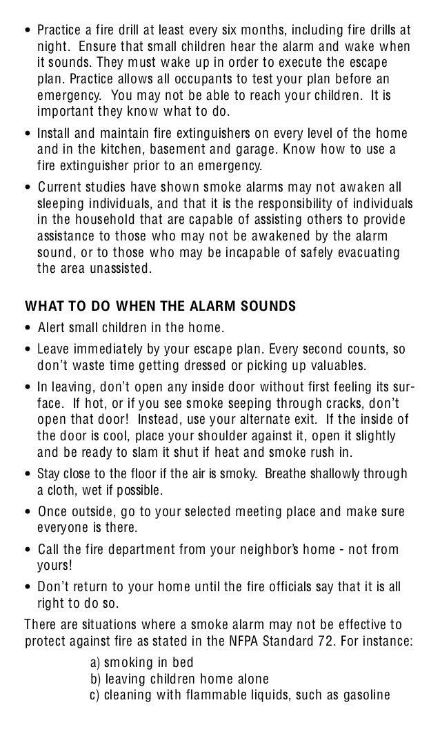 kidde smoke alarm manual 0916
