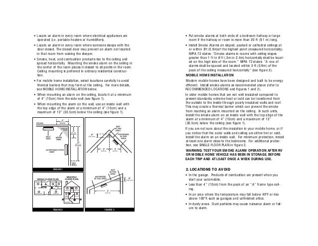 Kidde Smoke Alarm 0916 Manual