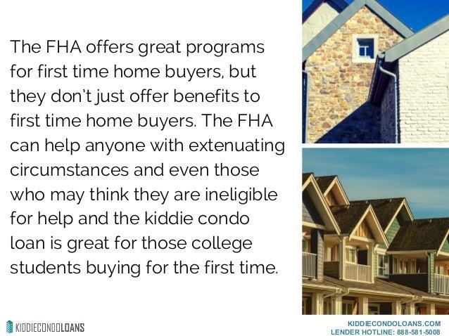 Kiddie Condo Loan Benefits Slide 2