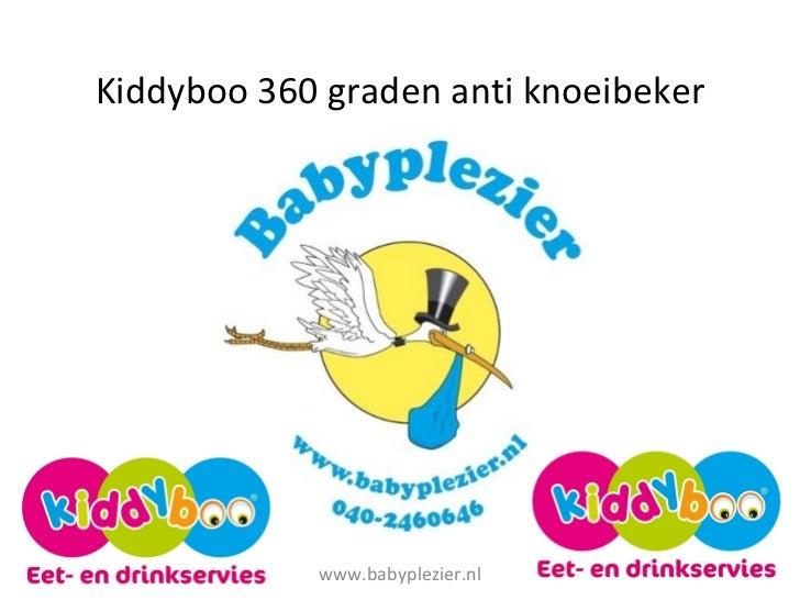 Kiddyboo 360 graden anti knoeibeker www.babyplezier.nl