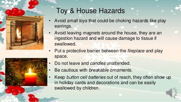 Holiday safety tips from kid for Safety around the house