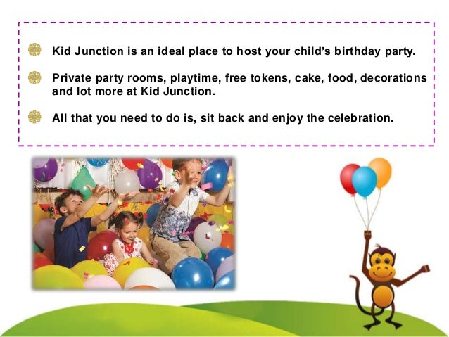 The Ultimate Birthday Party Experience Slide 3