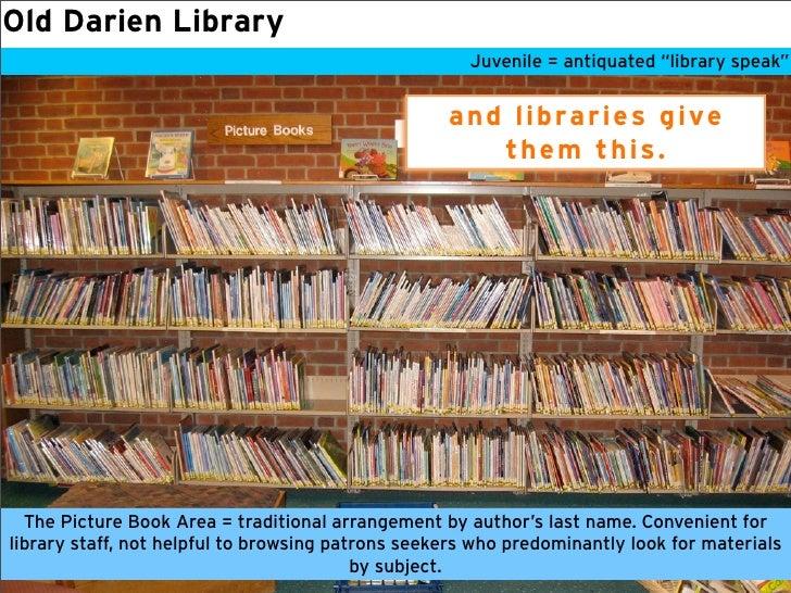 Darien Library KidLit ReOrg Slide 3