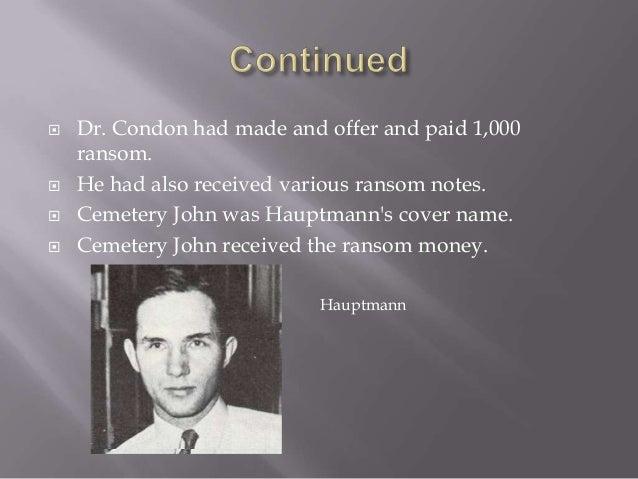 Charles Lindbergh Jr Ransom Notes