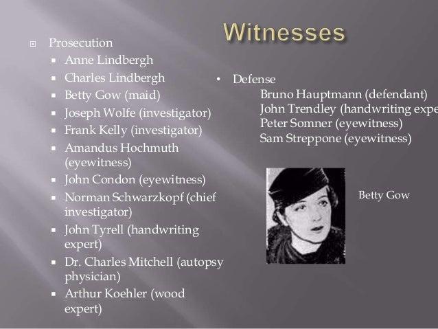 Kidnapping Of Charles Lindbergh Jr