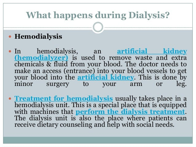 Kidney dialysis in india