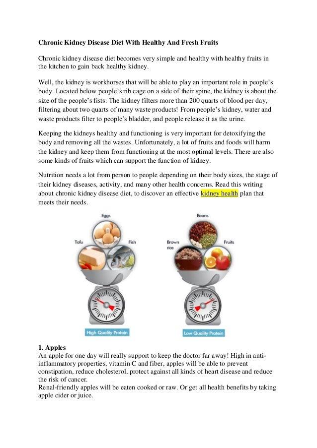 Healthy Kidney Diet Recipes 2019