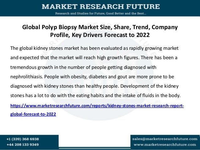 Kidney stones market research report  global forecast to 2022 Slide 2
