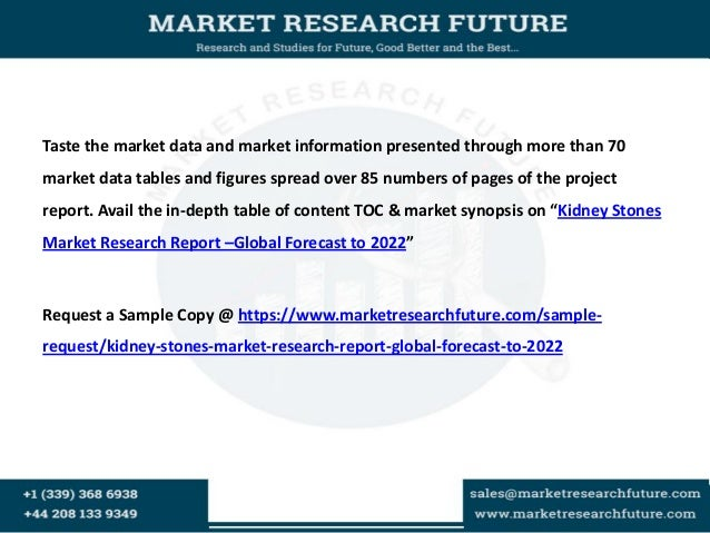 Kidney stones market research report  global forecast to 2022 Slide 3