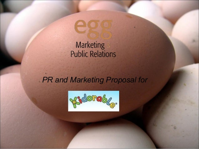 PR and Marketing Proposal for