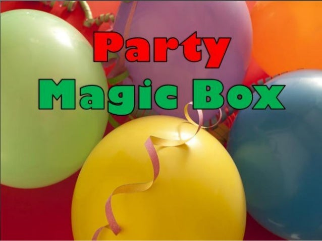 We at Party Magic Box feel that whatever the occasion is, your child should have the best of everything and enjoy themselv...