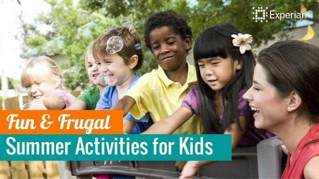 Summer Activities for Kids Fun & Frugal