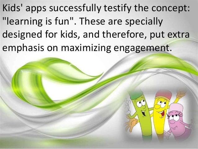 Kids' apps Slide 2