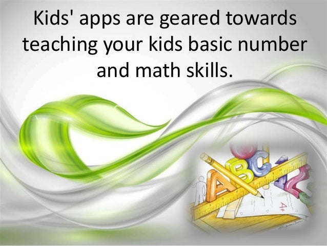 Kids' apps Slide 3