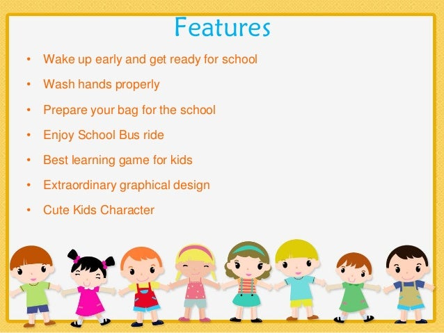 Kid's Back to School Game
