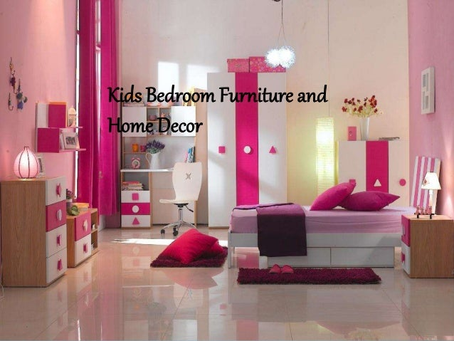 Kids Bedroom Furniture and Home Decore