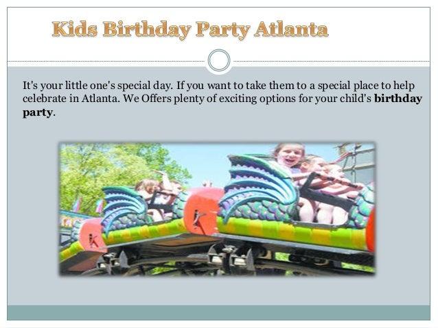 Kids Birthday Party Atlanta - Children's birthday party atlanta