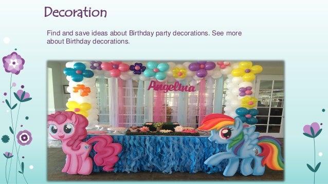 Birthday Celebration 2 Decoration