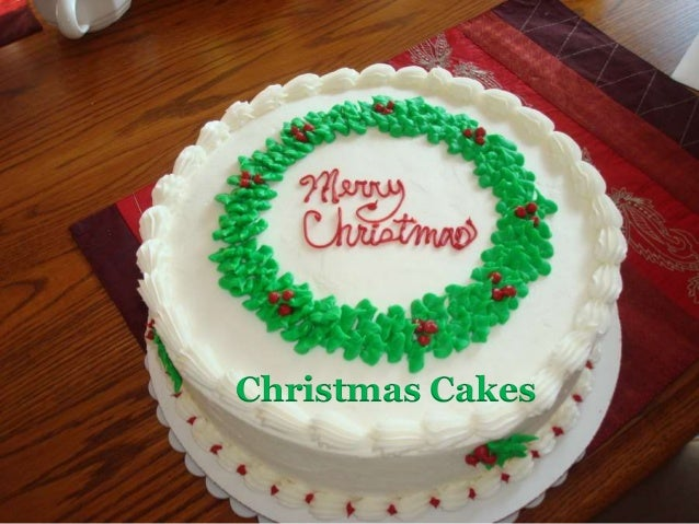 4 - Christmas Cake Decorations