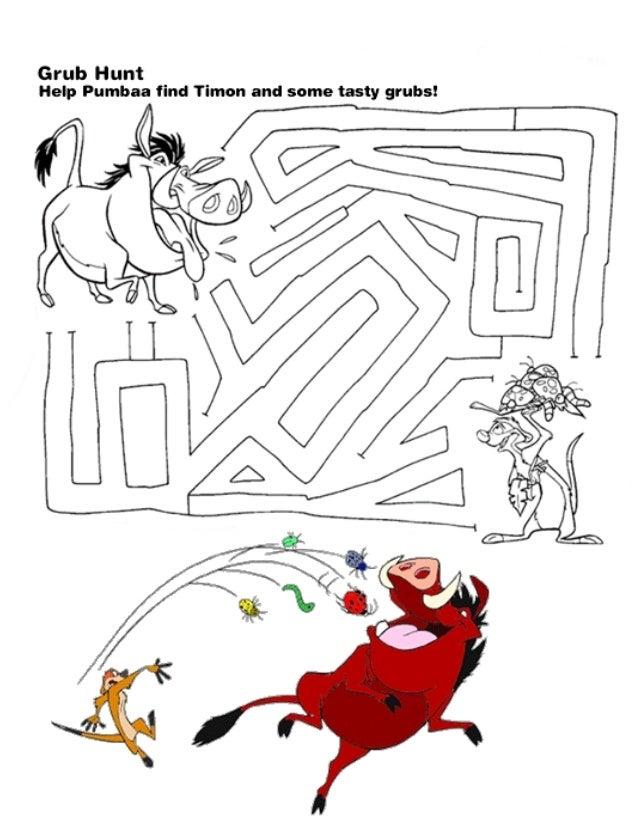 Kids disney activity book boy – Disney Worksheets