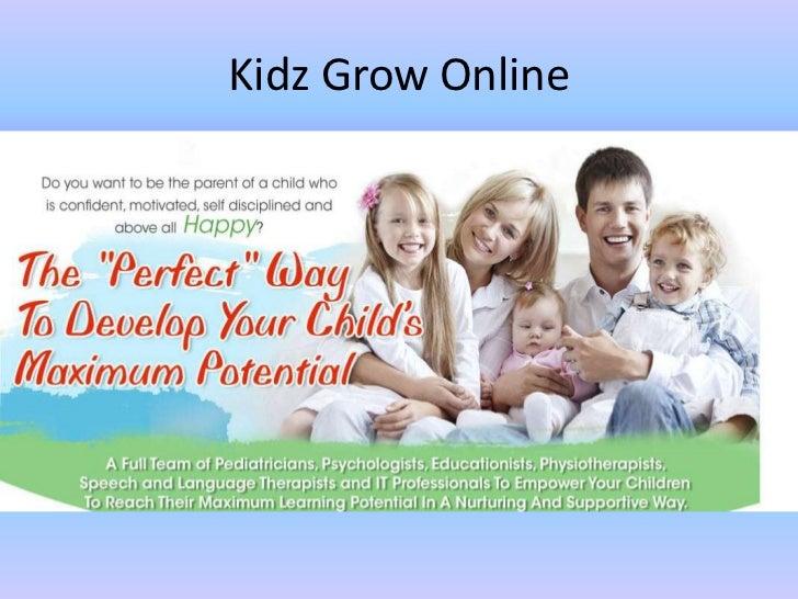 Kidz Grow Online