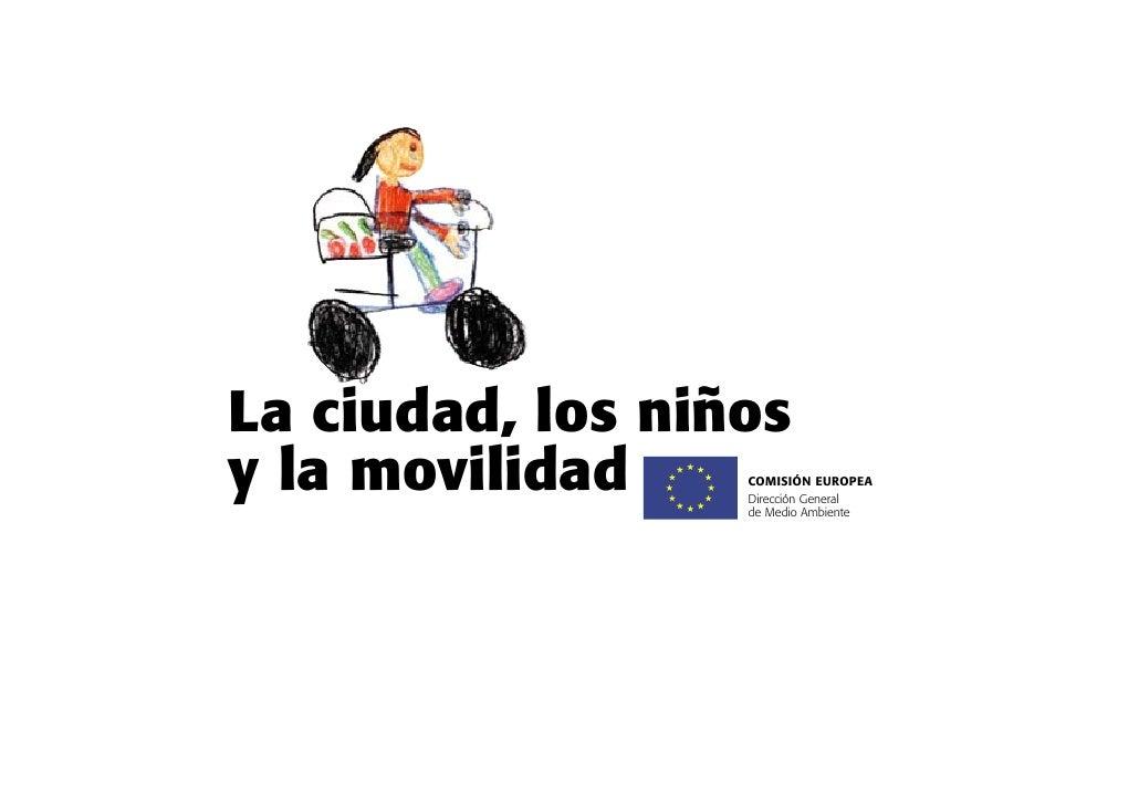 La ciudad, los niños y la movilidad