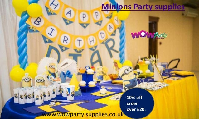 Kids party decorations | kids party supplies