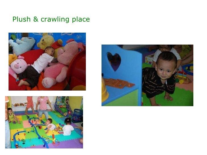 Plush & crawling place