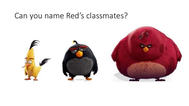 Kids quiz angry birds movie