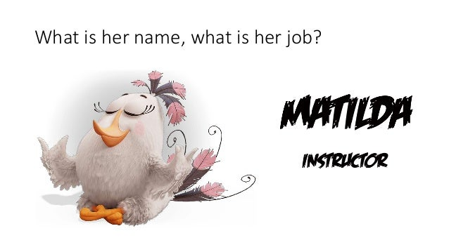 Her Name: Kids Quiz Angry Birds Movie