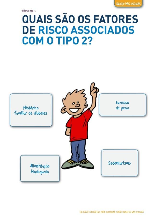 Um pacote educativo para informar sobre diabetes nas escolas