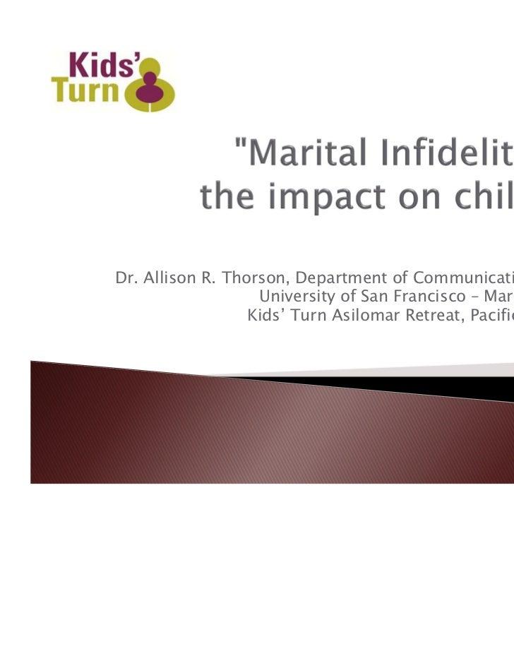 Dr. Allison R. Thorson, Department of Communication Studies                   University of San Francisco – March 5, 2011 ...