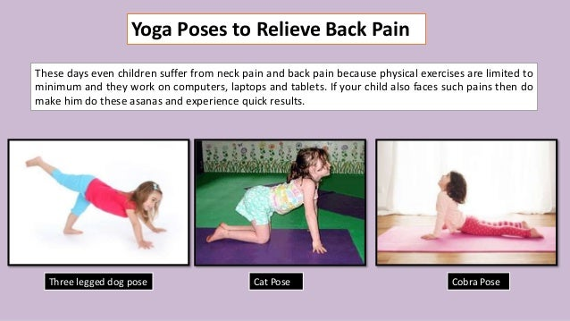 Easy Yoga Poses To Solve Health Problems In Kids