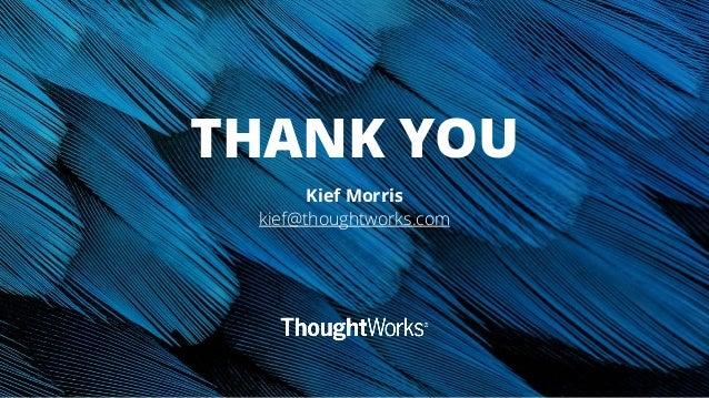 Kief Morris - Infrastructure is terrible