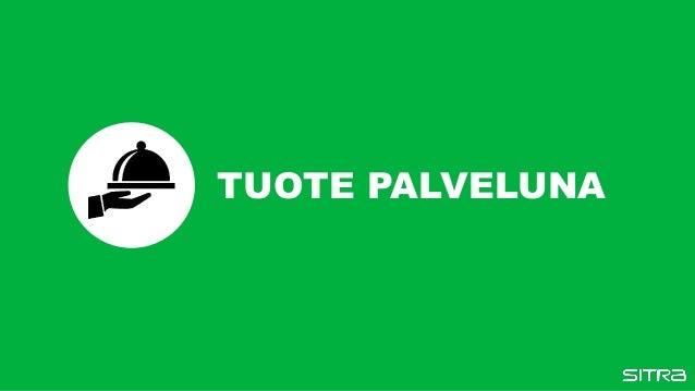 TUOTE PALVELUNA
