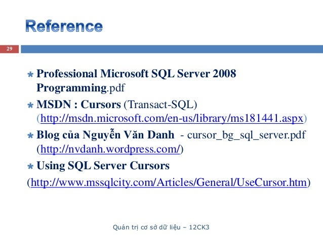 how to avoid cursors in sql server 2008
