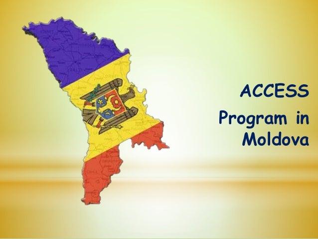 ACCESS Program in Moldova