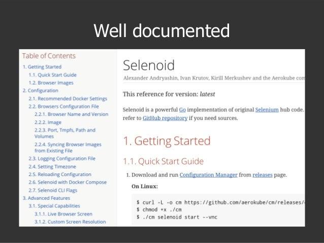 QA Fest 2017. Иван Крутов. Selenoid: запускаем Selenium тесты в Docker контейнерах
