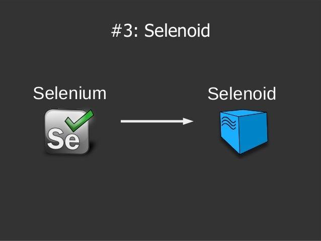 SelenoidSelenium #3: Selenoid
