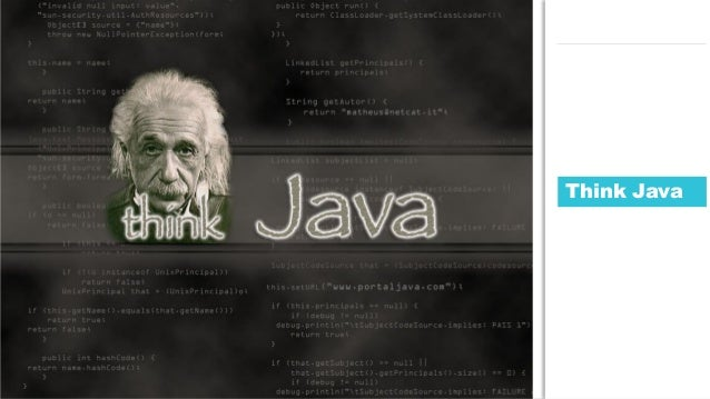 113JDD conference Think Java