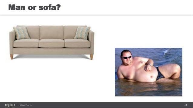 23JDD conference Man or sofa?