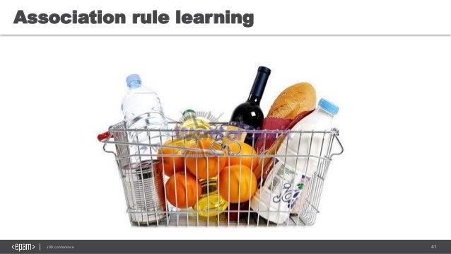 41JDD conference Association rule learning
