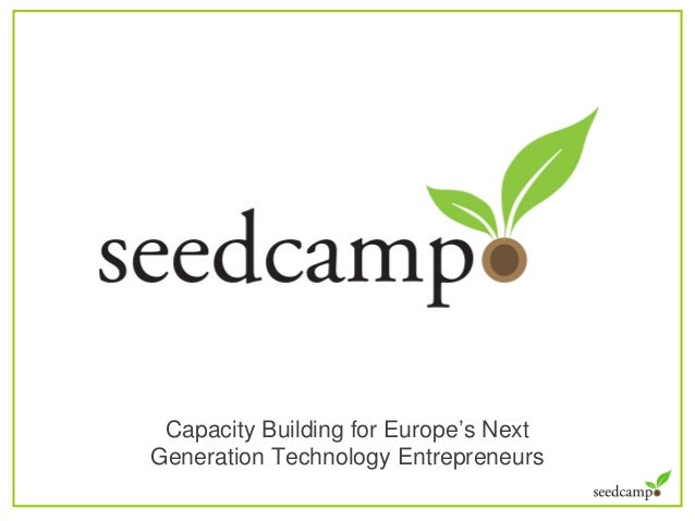 Capacity Building for Europe's Next Generation Technology Entrepreneurs