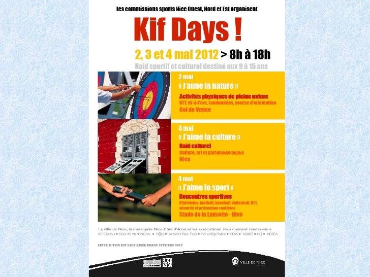 2 mai: Nature Day                          Atelier 1:                      Connaissance et                       respect n...